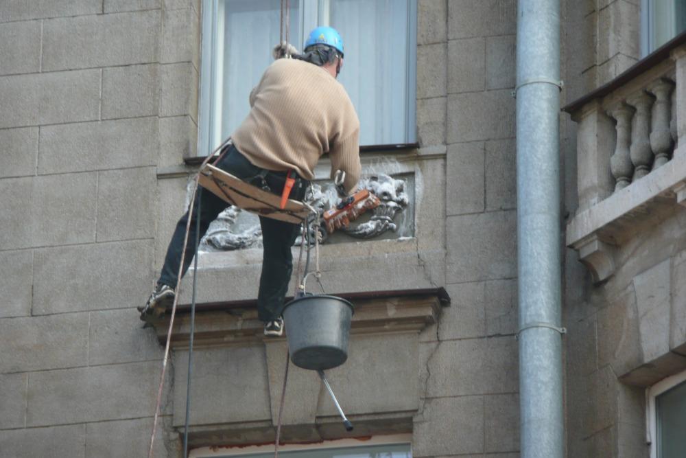 работа альпинистов